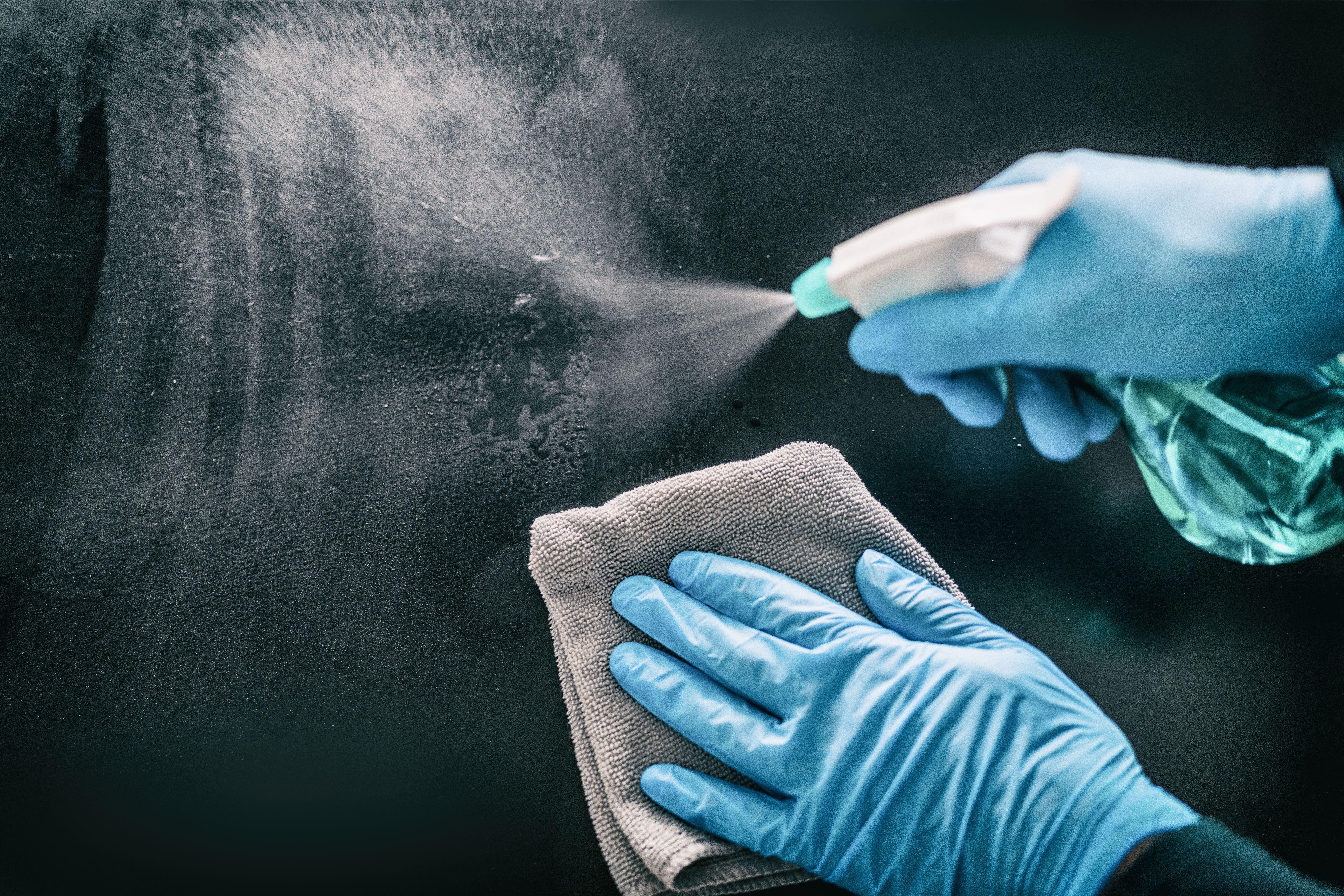 新型コロナウイルス感染予防助成金受給の流れと殺菌処理について
