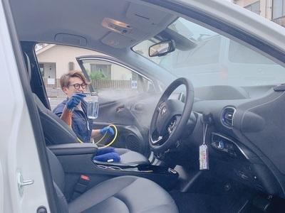 車内無光触媒コーティング