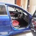 板橋区にて車内の無光コーティングを施工致しました。