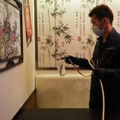 八千代市内の奇楽様からウイルス予防の作業をさせて頂きました。